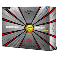 Callaway Chrome Soft X Golf Balls 2017