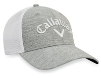 Callaway Mesh Fitted Cap Heather Silver/White 2017