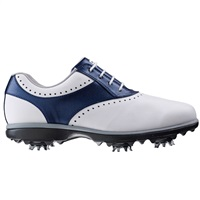 FootJoy Ladies eMerge Golf Shoes Wide Fit White/Navy 2017