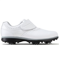 FootJoy Ladies eMerge Golf Shoes Wide Fit White/White Velcro 2017