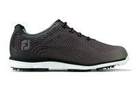 FootJoy Ladies emPOWER Golf Shoes Wide Fit Black/Charcoal/Silver 2017