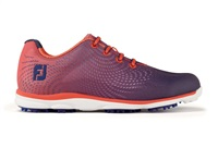 FootJoy Ladies emPOWER Golf Shoes Wide Fit Papaya/Navy 2017