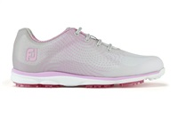 FootJoy Ladies emPOWER Golf Shoes Wide Fit Silver/Lilac 2017