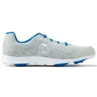 FootJoy Ladies enJoy Spikeless Golf Shoes Wide Fit Cloud/Electric Blue