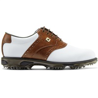 FootJoy Dryjoys Tour Golf Shoes Medium Fit White/Brown Croc 2017