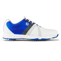 FootJoy Energize Golf Shoes Medium Fit White/Electric Blue 2017