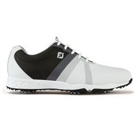 FootJoy Energize Golf Shoes Wide Fit White/Black/Charcoal 2017