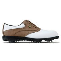 FootJoy Hydrolite 2.0 Golf Shoes Wide Fit White/Taupe Bomber 2017