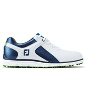 FootJoy Pro SL Golf Shoes Medium Fit White/Blue 2017