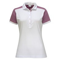 Ping Ladies Allure Polo White/Berry 2017