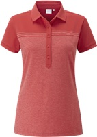 Ping Ladies Hannah Polo Cherry Red/Cayenne Marl 2017