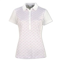 Ping Ladies Rae Polo White Multi 2017