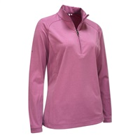 Ping Ladies Carmel Half-Zip Top Berry Marl 2017