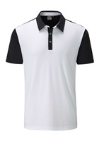Ping Keyes Polo White/Black Heather 2017