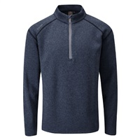 Ping Kelvin Half Zip Golf Top Navy Marl 2017