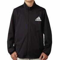 Adidas Boys Climastorm Jacket Black 2017