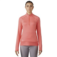 Adidas Ladies Rangewear Half Zip Jacket Easy Coral 2017