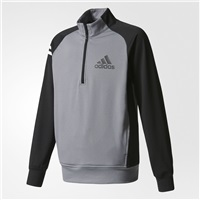 Adidas Boys Layering Jacket Vista Grey/Black 2017