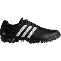Adidas AdiPure Flex Shoes Wide Fit Core Black/Footwear White/Power Red 2017