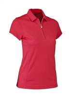 Daily Sports Ladies Macy Polo Shirt Tomato 2017