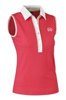 Daily Sports Ladies Shea Sleeveless Polo Tomato 2017