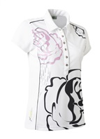 Daily Sports Ladies Whitney Polo White 2017