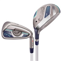 Ping Ladies G Le Irons 5-6H, 7-9PWSW Graphite Shaft 2017