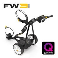 Powakaddy FW3i Electric Golf Trolley 18 Hole Lithium Battery Black 2017