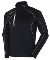 Sunice Allendale Superlitefx Stretch Thermal Half-Zip Pullover Black/Ombre 2017
