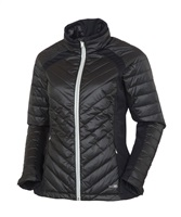 Sunice Ladies Cristina Thermal Featherless Insulated Stretch Jacket Black/Black 2017