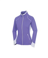 Sunice Ladies Esther Superlitefx Stretch Jacket Iris/Pure White 2017