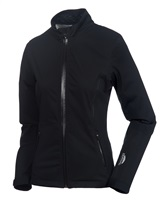Sunice Ladies Onassis Zephal Flextech Waterproof Ultra-Stretch Jacket Black Embossed/Charcoal 2017