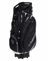 Fast Fold Cart Bag Black/White