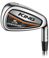 Cobra King Oversize Irons Steel Shaft 5PWSW Black
