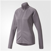 Adidas Ladies Essentials 3-Stripes Layering Jacket Trace Grey 2017