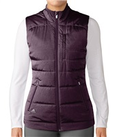 Adidas Ladies PrimaLoft Puffer Vest Red Night 2017
