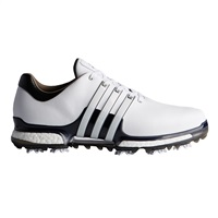 Adidas Tour360 Boost 2.0 Wide Width Shoes Running White/Core Black 2017