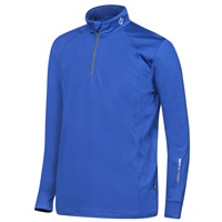 Oscar Jacobson Rock Thermal Half Zip Base Layer Blue 2017