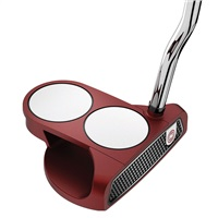 Odyssey O-Works Red 2-Ball Putter Super Stroke Mid Slim 2.0 Grip Left Hand 2017