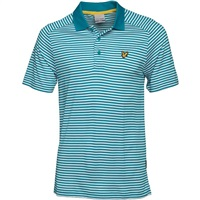 Lyle & Scott Craigielaw Stripe Tech Polo Cove Green