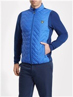 Lyle & Scott Oldany Zip Through Padded Jacket Cobalt