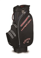 Callaway Hyper Dry Cart Bag 2018 Black/Titanium/Red
