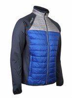 Proquip Therma Pro Jacket Pewter/Surf Blue/Light Grey