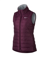 Nike Golf Ladies Golf Vest Wine/Grey 2017