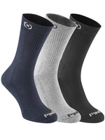 Ping Mitchell 3 Pair Pack Socks Black/Navy/Ash 2017