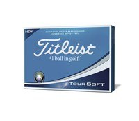 Titleist Tour Soft Golf Balls Yellow 2019
