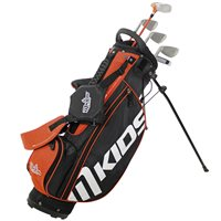 "MKids Junior Lite 49"" Orange Half Set Age 6-8 RH"