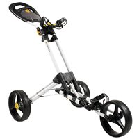 Masters iCart One - 3 Wheel One Click Push Trolley White
