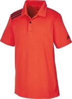 Adidas Junior 3-Stripes Polo Hi Res Red 2018