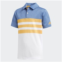Adidas Junior 3-Stripes Polo Real Gold 2018